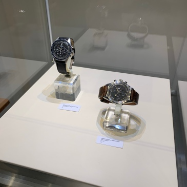 Two Vintage Omega Speedmasters from the Omega Museum
