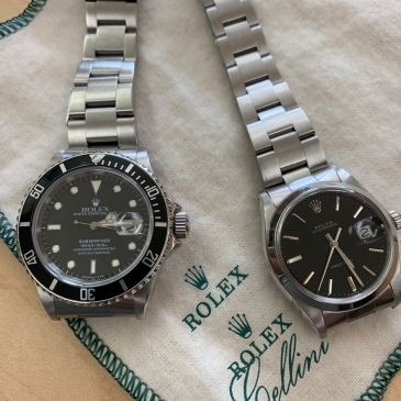Rolex Submariner and Rolex Oysterdate